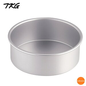 TKG アルマイトデコレーション 共底深型 8インチ WDK-82[関連:業務用 製菓用品 型 アルミ製 ケーキ型 お菓子作り デコレーションケーキ]