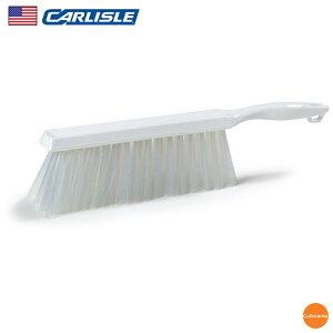 カーライル カウンターブラシ 40480 ホワイト JBL-F9[関連:CARLISLE アメリカ 業務用 パン作り用品 掃除道具 HACCP対応 異物混入対策 カラー タワシ ベーカリー ベンチブラシ テーブル ホー