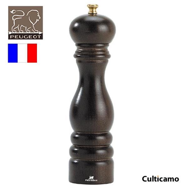 プジョー ペパーミル パリ チョコレート 22cm 0870422/1 PPJ-03[関連:PEUGEOT フランス ブランド 業務用 胡椒 こしょう ペッパー 木製]
