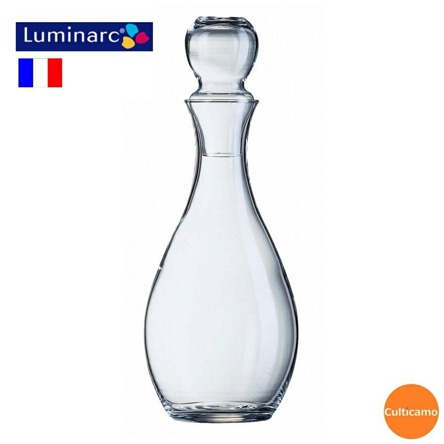 Luminarc エレガンスキャラフェ (ガラス製) 57972 1,000cc PDK-05【関連:Arcoroc フランス ブランド ワイン用品 デカンタ カラフェ ワイン ジュース 水差し デキャンタ】