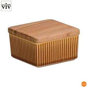 VIV バターケース ハーフ ブラウン 26249 BBT-93[関連:ヴィヴアンサンブル 業務用 保存容器 バターキーパー ピーナッツバター チョコレート クリームチーズ ジャム]