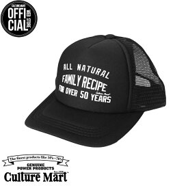 CULTURE MART(カルチャーマート) プリントメッシュキャップKID'S MESH CAP PRINT / BLACK×BLACK (ALL NATURAL)帽子 デニム キャップ メンズ レディースアメリカ雑貨 アメカジ アメリカン