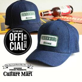 CULTURE MART(カルチャーマート) デニムキャップDENIM CAP / デニム×ホワイト(Arizona)帽子 デニム キャップ メンズ レディースアメリカ雑貨 アメカジ アメリカン