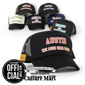 CULTURE MART(カルチャーマート) プリントメッシュキャップMESH CAP PRINT 3帽子 デニム キャップ メンズ レディースアメリカ雑貨 アメカジ アメリカン