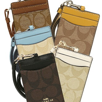 Coach pass holder outlet Lady's COACH F63274
