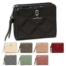 【返品OK】マークジェイコブス 二つ折り財布 ミニ財布 キルテッドソフトショット レディース MARC JACOBS M0015781