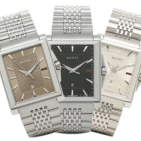 【6時間限定ポイント10倍】グッチ 腕時計 メンズ Gタイムレス GUCCI Gタイムレス G-TIMELESS レクタングル