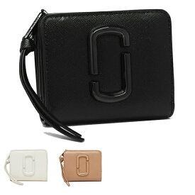 【返品OK】マークジェイコブス 二つ折り財布 ミニ財布 スナップショット レディース MARC JACOBS M0014986