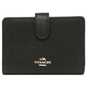 COACH財布アウトレットコーチF11484クロスグレインミディアムコーナージップウォレット二つ折り財布