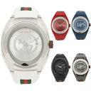 【155時間限定ポイント5倍】【返品OK】グッチ 腕時計 レディース メンズ SYNC シンク 46MM クォーツ GUCCI