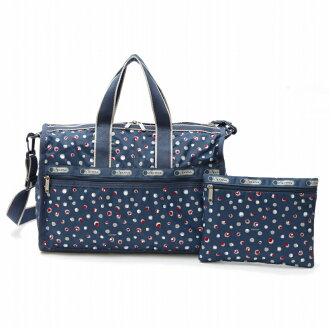 Lesportsac bag 7184 D211 mediumweekender Medium Weekender Harbour dot HARBOURDOT