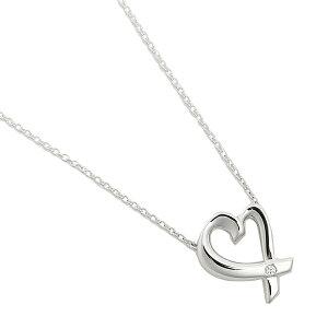 【ポイント10倍 6/25 20時〜6/26 2時】【返品OK】ティファニー ペンダント TIFFANY&Co. 25604296 スモール ラビングハートダイヤモンド LOVING HEART DIAMOND ネックレス アクセサリー シルバー