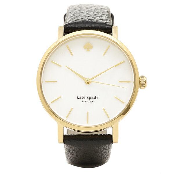 ケイトスペード 腕時計 レディース ブラックゴールド 1YRU0010