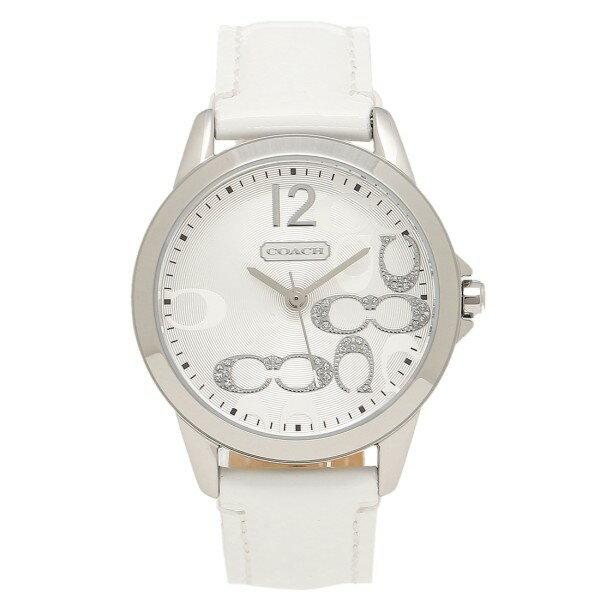 コーチ 腕時計 レディース COACH クラシック NEW CLASSIC SIGNATURE ニュークラシックシグネチャー 時計/ウォッチ シルバー