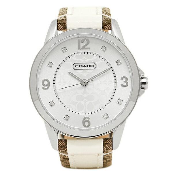 【4時間限定ポイント10倍】コーチ 腕時計 レディース COACH 14501619 クラシックNEW CLASSIC SIGNATURE ニュークラシックシグネチャー 時計/ウォッチ シルバー