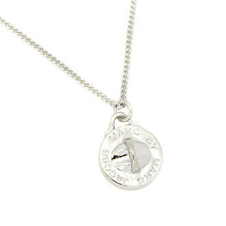 Marc by Marc Jacobs necklace MARCBY MARCJACOBS M3PE555 80083 Turnlock Pendant pendant ARGENTO silver