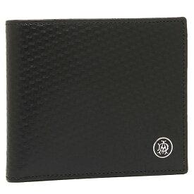 【4時間限定ポイント10倍】【返品OK】ダンヒル DUNHILL 財布 メンズ ダンヒル 財布 DUNHILL L2V332A MICRO D-EIGHT 2つ折り財布 ブラック