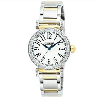 코치 시계 레이디스 COACH 14501725 매디슨 패션 손목시계 워치 실버/옐로우 골드