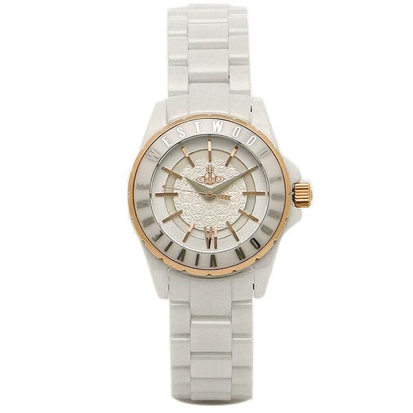 ヴィヴィアンウエストウッド 時計 レディース VIVIENNE WESTWOOD VV088RSWH SLOANE2 腕時計 ウォッチ ホワイト/シルバー/レッドゴールド/ホワイト