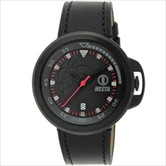 스 탭 랜드 NESTA BRAND 시계 손목시계 남자 시계 남성 다 움 탭 NESTA 랜드 BRAND DC45BB-BK 일상 생활 방수 시계 블랙