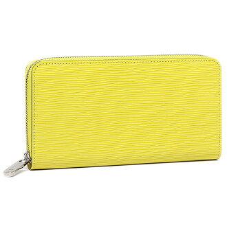 Louis Vuitton LOUIS VUITTON long wallet Eppie wallet Louis Vuitton wallet LOUIS VUITTON M60436 エピレザージッピーウォレット long wallet ピスタッシュ