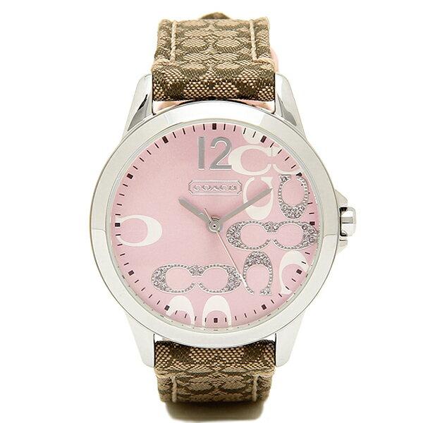 コーチ 腕時計 レディース COACH 14501621 クラシックNEW CLASSIC SIGNATURE ニュークラシックシグネチャー 時計/ウォッチ ピンク