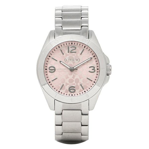 コーチ 時計 レディース COACH 14501782 TR1STEN トリステン 腕時計 ウォッチ ピンク/シルバー