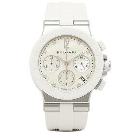 【4時間限定ポイント10倍】ブルガリ BVLGARI 時計 レディース 腕時計 ブルガリ 時計 BVLGARI DG37WSCVDCH/8 ディアゴノ 腕時計 ウォッチ ホワイト/ホワイト