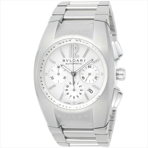 【4時間限定ポイント10倍】 ブルガリ BVLGARI 時計 腕時計 メンズ ブルガリ 時計 メンズ BVLGARI EG40C6SSDCH エルゴン 腕時計 ウォッチ シルバー/ホワイト