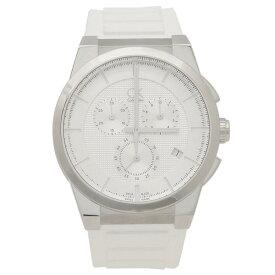 【4時間限定ポイント10倍】カルバンクライン 時計 メンズ CALVIN KLEIN K2S371L6 ダート 腕時計 ウォッチ ホワイト/シルバー