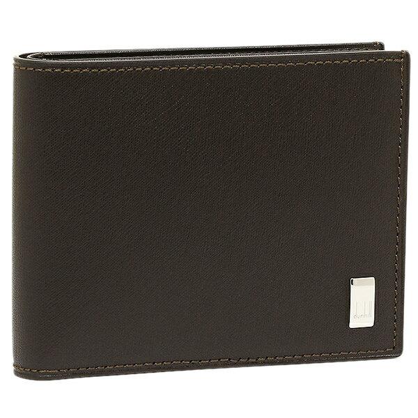 ダンヒル DUNHILL 財布 メンズ DUNHILL ダンヒル FP3070E 2つ折り財布 サイドカー ダークブラウン