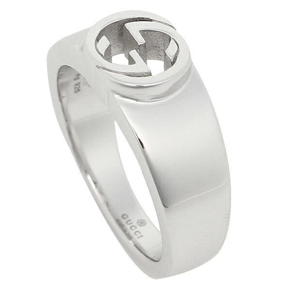 グッチ GUCCI 指輪 リング アクセサリー レディース GUCCI 374666 J8400 0702 インターロッキングG 指輪 シルバー