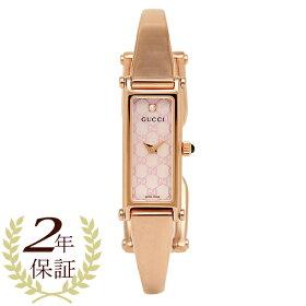 【返品OK】グッチ時計レディース1500シリーズクォーツピンクパールピンクゴールドGUCCIYA015559