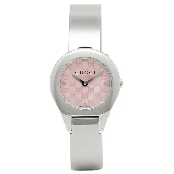 【エントリーでポイント最大19倍】グッチ GUCCI 時計 レディース 腕時計 グッチ 時計 GUCCI 6700シリーズ 腕時計 YA067507 ウォッチ ピンクパール/シルバー クリスマスセール