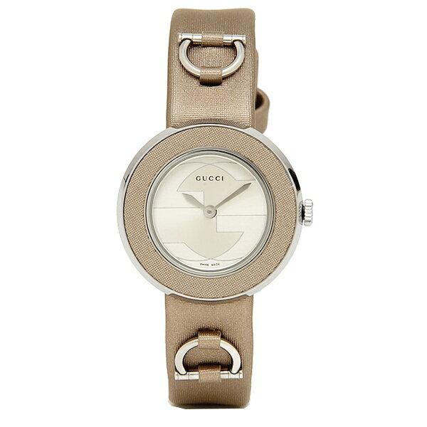 グッチ GUCCI 時計 レディース 腕時計 GUCCI グッチ 時計 YA129516 Uプレイ グレー/ベージュ/シルバーウォッチ/腕時計