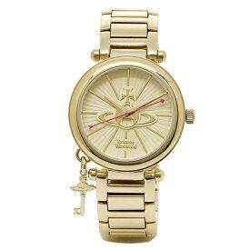 【4時間限定ポイント5倍】【返品OK】ヴィヴィアン 腕時計 ヴィヴィアンウエストウッド VV006KGD ゴールド