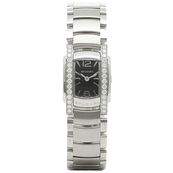【6時間限定ポイント5倍】ブルガリ BVLGARI 時計 レディース 腕時計 ブルガリ 時計 BVLGARI AA26BSDS アショーマD 腕時計 ウォッチ シルバー/ブラック