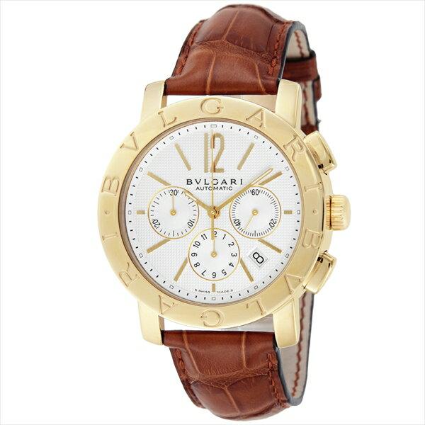 ブルガリ BVLGARI 時計 腕時計 メンズ ブルガリ 時計 メンズ BVLGARI BB42WGLDCH ブルガリブルガリ 自動巻き 腕時計 ウォッチ ブラウン/ホワイト