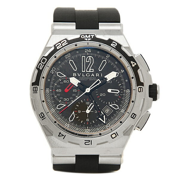【4時間限定ポイント10倍】ブルガリ BVLGARI 時計 腕時計 メンズ ブルガリ 時計 メンズ BVLGARI DP45BSTVDCH/GMT ディアゴノ 自動巻き 腕時計 ウォッチ ブラック