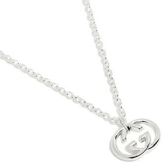 gucci necklace mens. gucci gucci necklace 190484 j8400 8106 silver bullitt / pendant men lady\u0027s mens