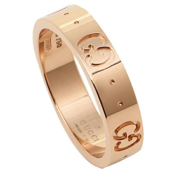 グッチ GUCCI 指輪 リング アクセサリー GUCCI グッチ GGアイコンスィン バンドリング アクセサリー/指輪 152045 J8500 5702 GG ICON THIN BAND RING ピンクゴールド 男女兼用 メンズ/レディース