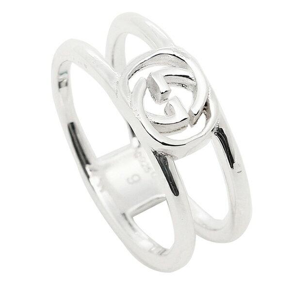 グッチ GUCCI 指輪 リング アクセサリー レディース/メンズ GUCCI 298036 J8400 8106 インターロッキングGチャーム 指輪 シルバー