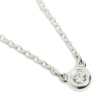 蒂芙尼TIFFANY&Co. 项链蒂芙尼项链TIFFANY&Co.24944395钻石面罩调车场16IN吊坠银子