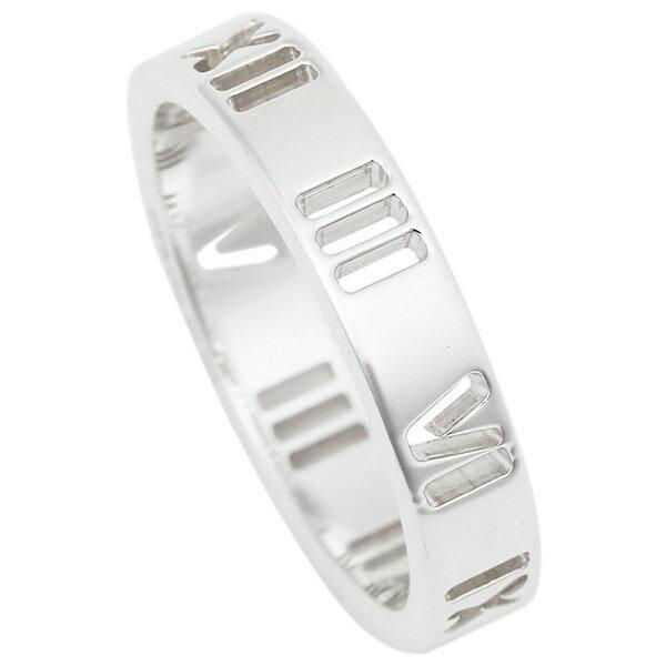 ティファニー リング アクセサリー TIFFANY&Co. アトラス ナローリング 指輪 シルバー