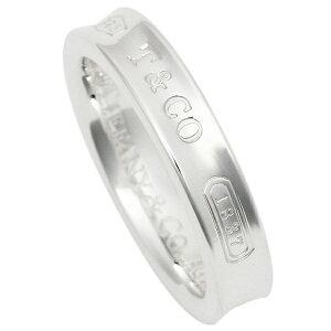 【エントリーでポイント15倍】ティファニー リング アクセサリー TIFFANY&Co. 1837 ナローベーシックリング SS 指輪 シルバー