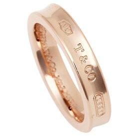 【6時間限定ポイント10倍】【返品OK】ティファニー リング アクセサリー TIFFANY&Co. 1837 ナローリング ルベド RUBEDO レディース 指輪 ローズゴールド