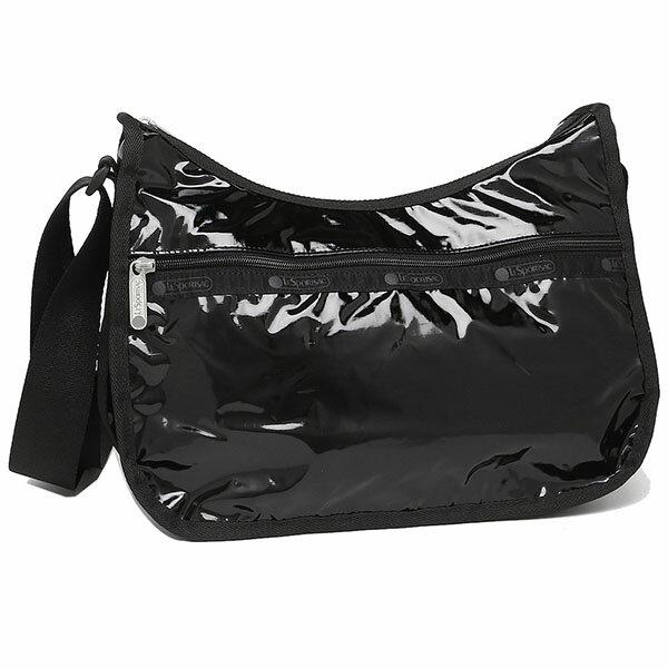 【5%OFFクーポン対象】LeSportsac レスポートサック 7520 レディース Classic Hobo クラシックホーボー ショルダーバッグ 9908 BLACK PATENT ブラックパテント
