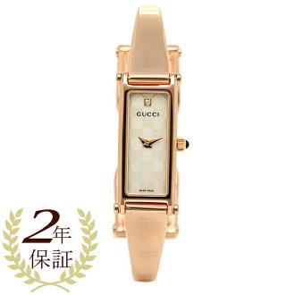 구찌 GUCCI 시계 손목시계 구찌 시계 레이디스 GUCCI 1500 시리즈 손목시계 YA015560 워치 화이트 펄/핑크 골드