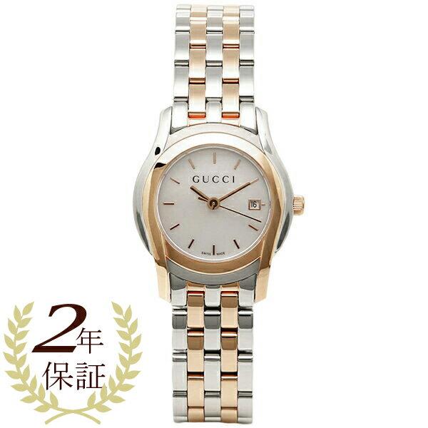 グッチ GUCCI 時計 レディース 腕時計 グッチ 時計 GUCCI Gクラス 腕時計 YA055538 ウォッチ ホワイトパール/シルバー/ピンクゴールド