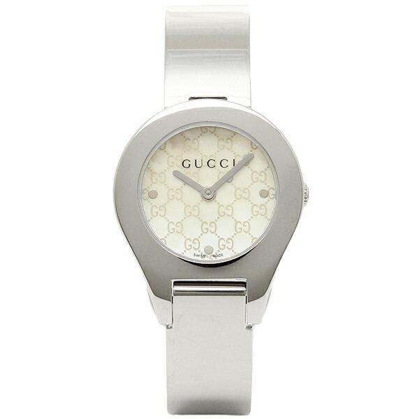 【24時間限定ポイント5倍】グッチ GUCCI 時計 レディース 腕時計 グッチ 時計 GUCCI 6700シリーズ YA067506 腕時計 ウォッチ ホワイトパール/シルバー